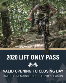 2020 Lift Only Season Pass