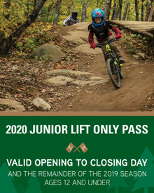 2020 Junior Lift Only Season Pass