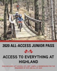 2020 All-Access Junior Season Pass