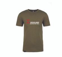 Classic Highland Logo Tee - Green
