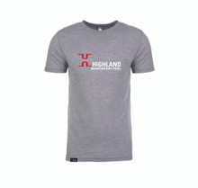 Classic Highland Logo Tee - Grey