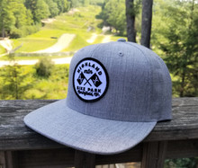 Race Flag Hat - Grey