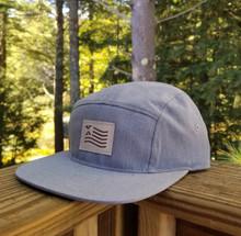 5-Panel Patriot Hat - Grey