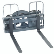 "Rotating Pallet Fork 180 Degrees with 48"" (1219 mm) Tines, 3700 lb. Capacity"