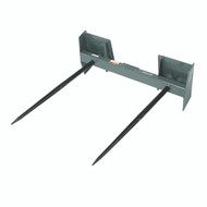 """Double Round Bale Spear - 42"""", 3000 lb. capacity"""