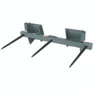 "Square Bale Spear - 26"" (3 tines) 3000 lb. capacity"