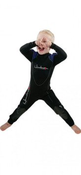 Children's Thermoprene Back Zip Jumpsuit