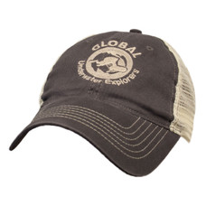 GUE Grey Trucker Hat