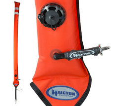 Blem Halcyon Super Slim Big DAM: Orange, CC, 6'