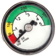 Trident 350 BAR/5000 PSI Mini Pony Pressure Gauge