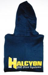 Halcyon Logo Zippered Hoodie