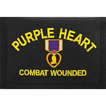 PURPLE HEART COMBAT WOUNDED Wallet