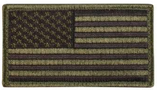 American Flag Patch (Black/OD)