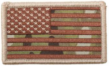 American Flag Patch (Multicam)