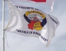 504th PIR Devils Flag