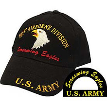 "101st Airborne Division ""Screaming Eagles"" Baseball Cap"