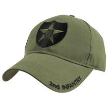 2nd Infantry OD Baseball Cap