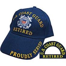 U.S. Coast Guard Retired Baseball Cap