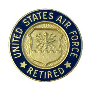 50faddff6b7 U.S. Air Force Retired Pin - Meach s Military Memorabilia   More