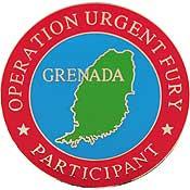 Grenada pin