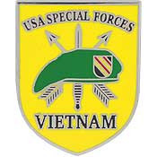 U.S.A. Special Forces Vietnam pin