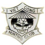 Viet Cong Hunting Club Vietnam pin