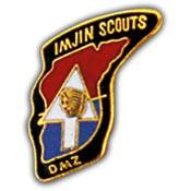 U.S. Army Imjin Scouts pin