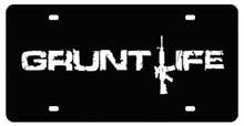 Gruntlife License Plate (12X6)
