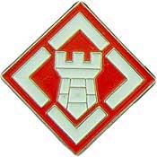 U.S. Army 20th Engineer Brigade pin