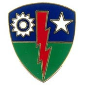 U.S. Army 75th Infantry Brigade pin