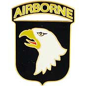 U.S. Army 101st Airborne Division pin
