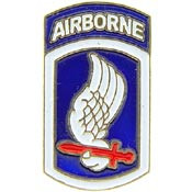 U.S. Army 173rd Airborne Division pin