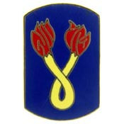 U.S. Army 196th Infantry Brigade pin