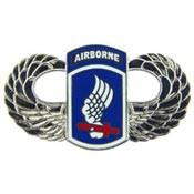 U.S. Army 173rd Airborne w/ Wings pin