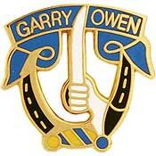 Garry Owen 7th Cavalry pin