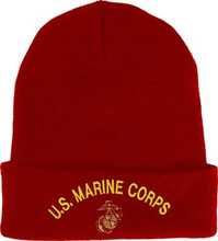 U.S. Marine Corps Red Watch Cap