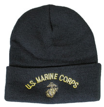 U.S. Marine Corps Black Watch Cap