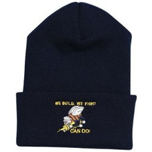 U.S. Navy Seabees Can Do Watch Cap