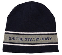U.S. Navy Stripe Watch Cap