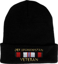 OEF Afghanistan Veteran Watch Cap