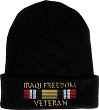 Iraqi Freedom Veteran Watch Cap
