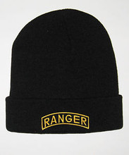 U.S. Army Ranger Tab Watch Cap