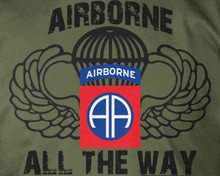 82nd Airborne All The Way T-Shirt