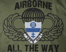 325th AIR Airborne All The Way T-Shirt