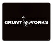 Gruntworks Metal Wall Sign (15X12)