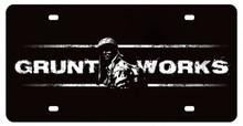 Gruntworks License Plate (12X6)
