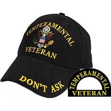 Tempermental Veteran Baseball Cap