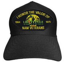 I Honor The Valor Of Nam Veterans Baseball Cap