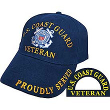 U.S. Coast Guard Veteran Baseball Cap