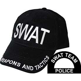 6290a796de4 ... First Responders  SWAT Baseball Cap. Image 1. Loading zoom